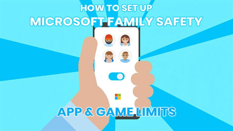 How to set up App and Game limits in Microsoft Family Safety