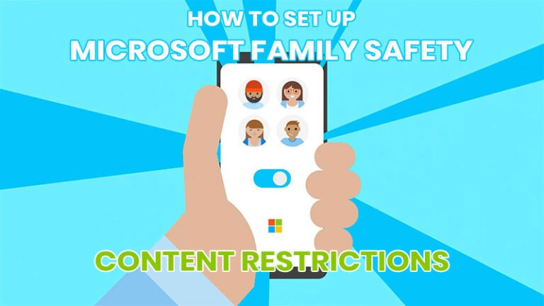How to set up Content Restrictions in Microsoft Family Safety